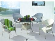 white wrought iron patio furniture