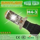 12V 24V 35W 55W xenon hid kit auto lamp H4 hi lo bi xenon car light bulb 3000k 4300k 6000k 8000k 12000k 30000k yellow green