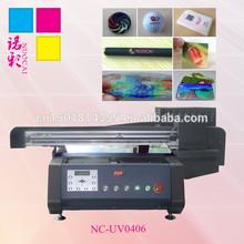 Professional Glass/Organic glass UV Printer/A2 Size Glass UV Printer NC-UV0406