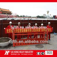 China Manufacturer ZLP aluminum suspended scaffolding platform/ basket crane/gondola/swing scaffold