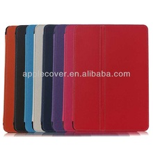 customized for i Pad Air Cloth Pattern Stand cover with Pen Slot