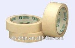 Single sided silicone adhesive washi masking tape for powder spraying