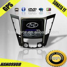 HANOSVOR 2 Din Car GPS DVD Player for HYUNDAI SONATA 2012