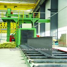 structural steel shot blasting machine foundry machinery