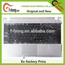 Genuine Original New Samsung RV411 Keyboard with palmrest touch