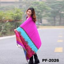 2014 new design feeling lady pashmina scarf/Wool Shawl/Fashion Printed shaw