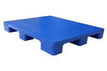 1100x900x140mm Single face 9 Legs-Solid HDPE Pallet