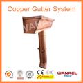 """H de estilo de cobre sistema del canal de/new6"""" canal de cobre estilo k cobre/de aluminio canal& bajada de agua del sistema"""
