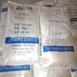 Barium Sulfate BaSO4 industrial grade 98% CAS: 7724-43-7