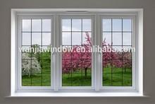 Elegant PVC grilles casement window
