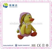 Plush Stuffed Easter Duck Doll in Egg Toy for Children