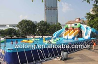 giant inflatable water slide New design / Big fun toys for adults