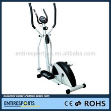 Stationary cross fit walking elliptical trainer