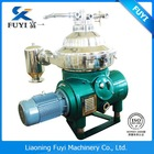 Fuyi widely used oil water separator centrifuge disk separator machine