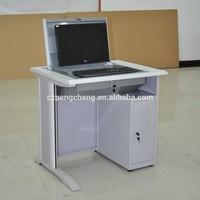 kindle 2014 new professional customized galvanized folding metal furniture desk