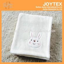 applique baby blanket,super soft flannel fleece baby blanket