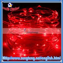 Factory Wholesale 10M 100LED Red Light USB LED Christmas String Light