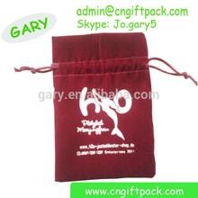 packing velvet and fabric gift bag