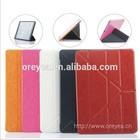 11 folios leather case for ipad air 2 transformer case