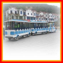 amusement park electric trackless tourist trains for sale