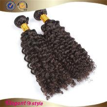 Full Cuticle Double Layers Beautiful Virgin Indian Curl Hair , indian virgin hair curly