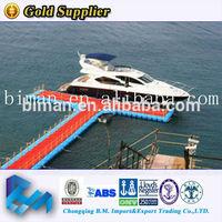 Plastic safe ship used floating docks sale