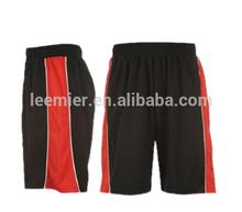100% polyester Custom design mens basketball shorts