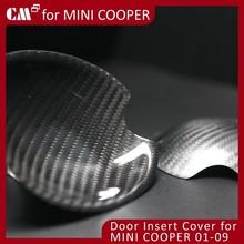 For Mini Cooper R56 Carbon Fiber Door Insert Cover