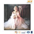 moderno hermosa bailarina de pintura al óleo de la reproducción de china