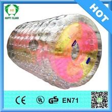 HI 0.8mm/1.0mm PVC/TPU inflatable water roller ,water walking roller