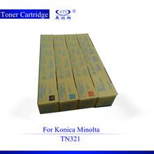 TN321 compatible Konica Minolta Bizhub C224 china toner cartridge