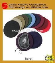 fashion Wool WA beret caps colorful beret cap military beret