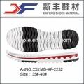 Chaussures à semelle de caoutchouc synthétique; semelles pour chaussures de sport