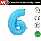 "[HOT] 40"" Gaint Number Balloons Code 6"