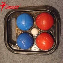 Bocce ball, pista de petanca, petanca, conjunto de boccia, deportes al aire libre conjunto
