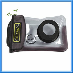 Universal Small Zoom Alfa Waterproof Digital Camera Case with Optical Lens (Clear)