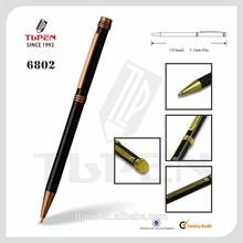 promotional thin metal ballpoint pen 6802