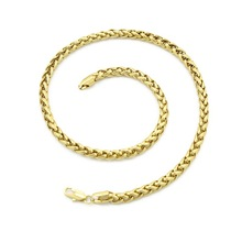 2014 New arrival fashion 18k gold plated chain necklace for women & man wholesale