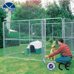 Top Quality New Design Wholesale Reasonable Price Galvanized Fence Dog Kennels