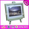 Nueva moda de madera marco de fotos, popular top de madera marco de fotos, caliente la venta de madera marco de imagen wj277273