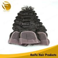 Wholesale Virgin Remy Human Deep wave Brazilian Cheap Lace Hair Closure