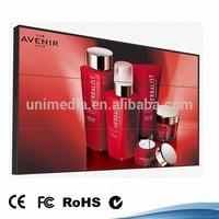 HD floor stand 55 inch shopping mall narrow bezel LCD cheap video wall