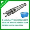 Alta productividad de doble husillo y barril / cónico de doble husillo y cilindro para de extrusión