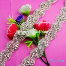 Bailange new design bridal dress fashion wholesale pearl rhinestone Sewing Accessories
