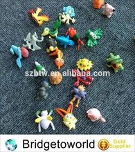 Lots 24 pcs Pokemon Pikachu Mini plastic Figures Randomly small size gift