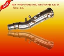 TURBO Downpipe For BM*W N20 328i Down Pipe 2012-2014 + F30 L4 2.0L(Fits:B*MW N20 328i)