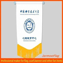 cheap satin mini soccer team pennant flag