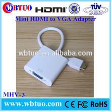 For Surface Pro2 Pro3 Macbook 1080P Mini HDMI vga