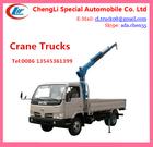 2-3T crane trucks,mini trucks with crane,mini pickup truck