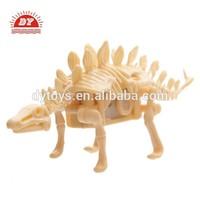 ICTI certificated custom make small dinosaur skeleton toy